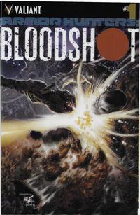 Cover Thumbnail for Armor Hunters: Bloodshot (Valiant Entertainment, 2014 series) #1 [Cover B - Chromium Cover]