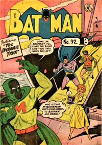 Cover Thumbnail for Batman (K. G. Murray, 1950 series) #92