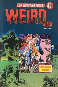 Cover Thumbnail for Weird Mystery Tales (K. G. Murray, 1972 series) #25