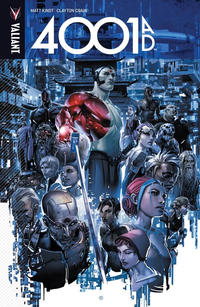 Cover Thumbnail for 4001 A.D. (Valiant Entertainment, 2016 series)
