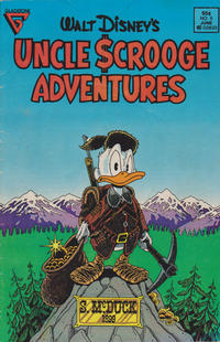 Cover Thumbnail for Walt Disney's Uncle Scrooge Adventures (Gladstone, 1987 series) #5 [Newsstand]