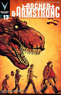 Cover Thumbnail for Archer and Armstrong (Valiant Entertainment, 2012 series) #13 [Cover B - Juan Doe]