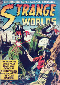 Cover Thumbnail for Strange Worlds (Superior Publishers Limited, 1951 series) #3
