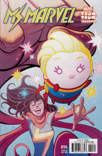 Cover Thumbnail for Ms. Marvel (Marvel, 2016 series) #10 [Incentive 'Marvel Tsum Tsum Takeover' Tradd Moore Variant]
