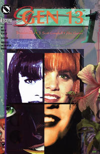 Cover Thumbnail for Gen 13 (Image, 1995 series) #1 [Verti-GEN Cover 1-K]