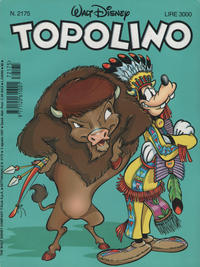 Cover Thumbnail for Topolino (The Walt Disney Company Italia, 1988 series) #2175