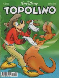 Cover Thumbnail for Topolino (The Walt Disney Company Italia, 1988 series) #2165