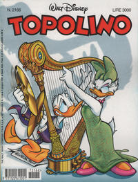 Cover Thumbnail for Topolino (The Walt Disney Company Italia, 1988 series) #2166