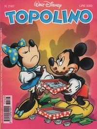 Cover Thumbnail for Topolino (The Walt Disney Company Italia, 1988 series) #2167