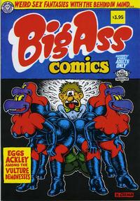 Cover Thumbnail for Big Ass Comics (Last Gasp, 1991 ? series) #1 [Twelfth Printing]
