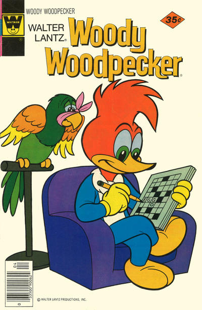 Cover for Walter Lantz Woody Woodpecker (Western, 1962 series) #165 [Gold Key]