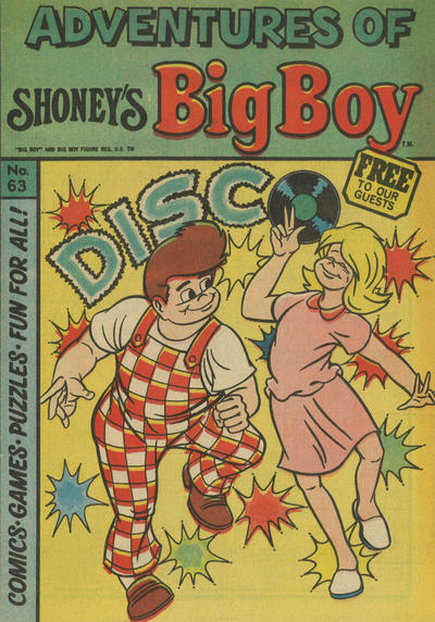 Cover for Adventures of Big Boy (Paragon Products, 1976 series) #63