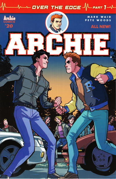 Cover for Archie (Archie, 2015 series) #20 [Cover A - Pete Woods]