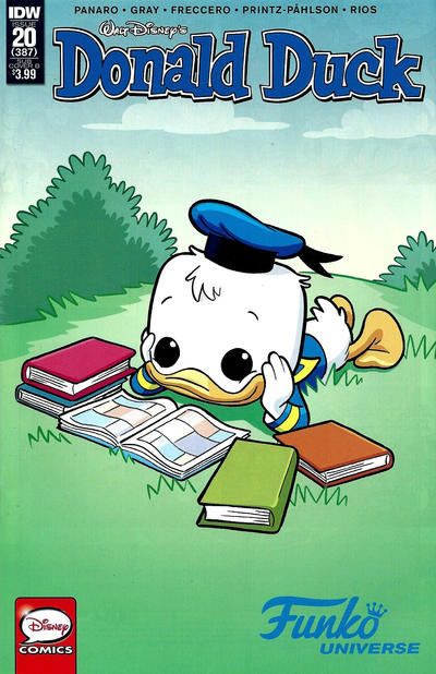 Cover for Donald Duck (IDW, 2015 series) #20 / 387