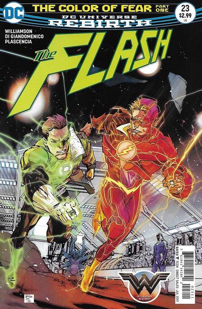 Cover for The Flash (DC, 2016 series) #23 [Carmine Di Giandomenico Cover]
