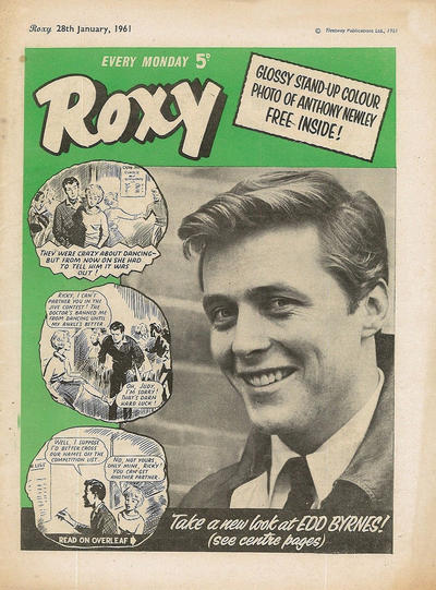 Cover for Roxy (Amalgamated Press, 1958 series) #28 January 1961 [151]
