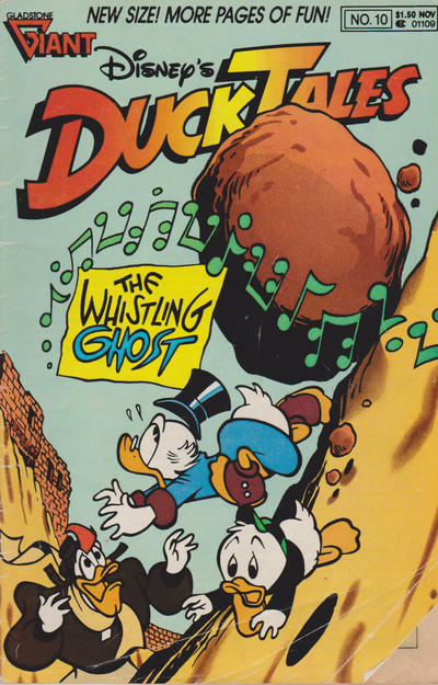 Cover for Disney's DuckTales (Gladstone, 1988 series) #10 [Newsstand]