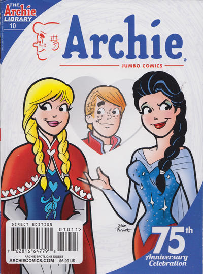 Cover for Archie Spotlight Digest: Archie 75th Anniversary Digest (Archie, 2016 series) #10