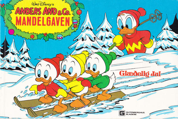 Cover for Anders And & Co. mandelgaven (Egmont, 1961 series) #1980