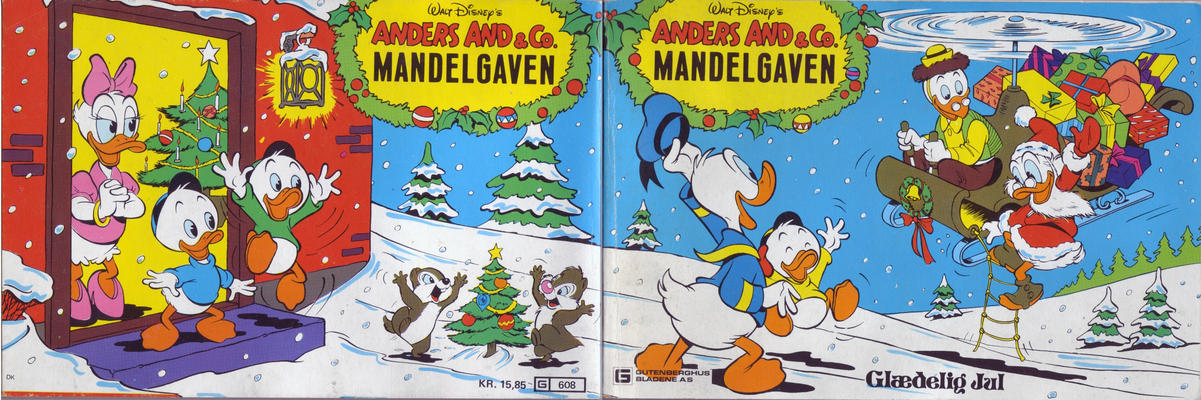 Cover for Anders And & Co. mandelgaven (Egmont, 1961 series) #1982
