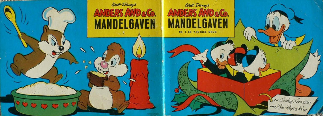 Cover for Anders And & Co. mandelgaven (Egmont, 1961 series) #8