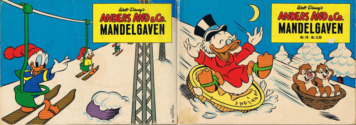 Cover for Anders And & Co. mandelgaven (Egmont, 1961 series) #10