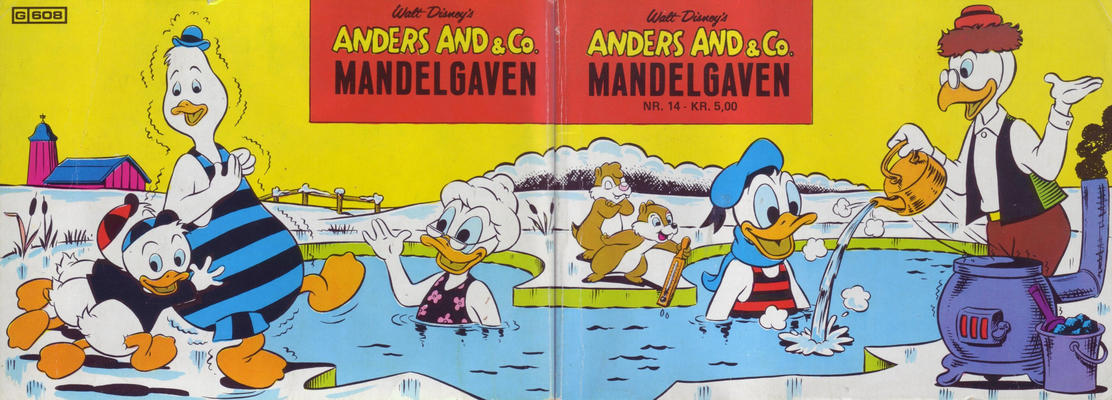 Cover for Anders And & Co. mandelgaven (Egmont, 1961 series) #14