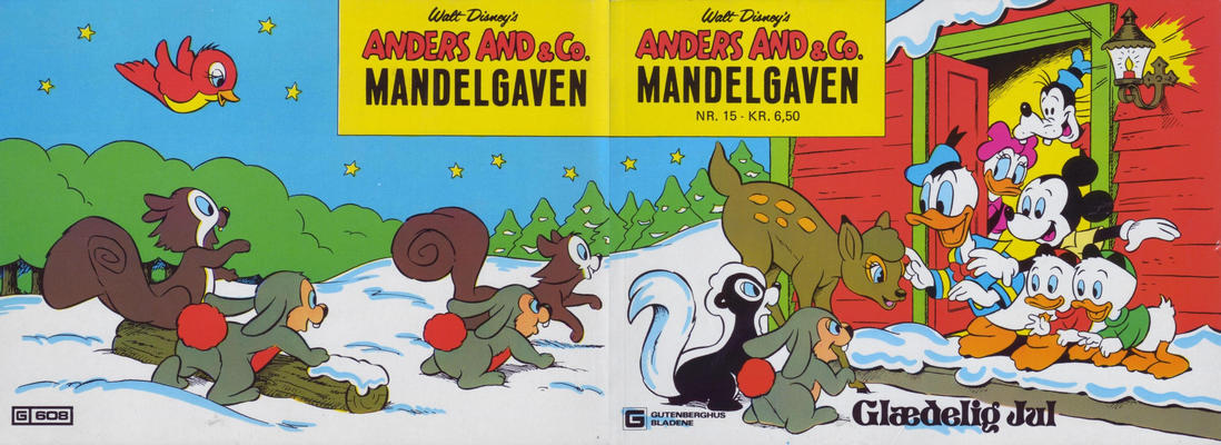Cover for Anders And & Co. mandelgaven (Egmont, 1961 series) #15