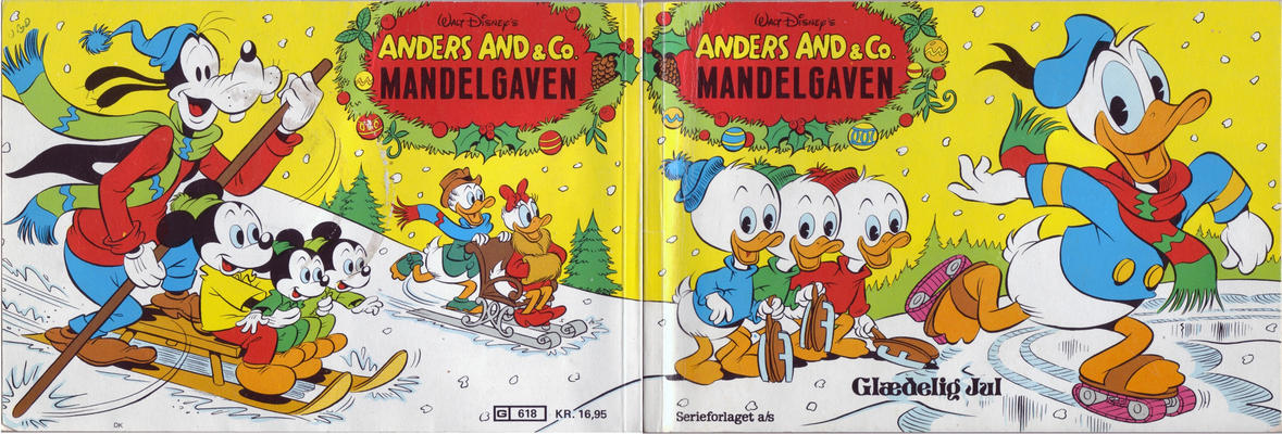 Cover for Anders And & Co. mandelgaven (Egmont, 1961 series) #1983