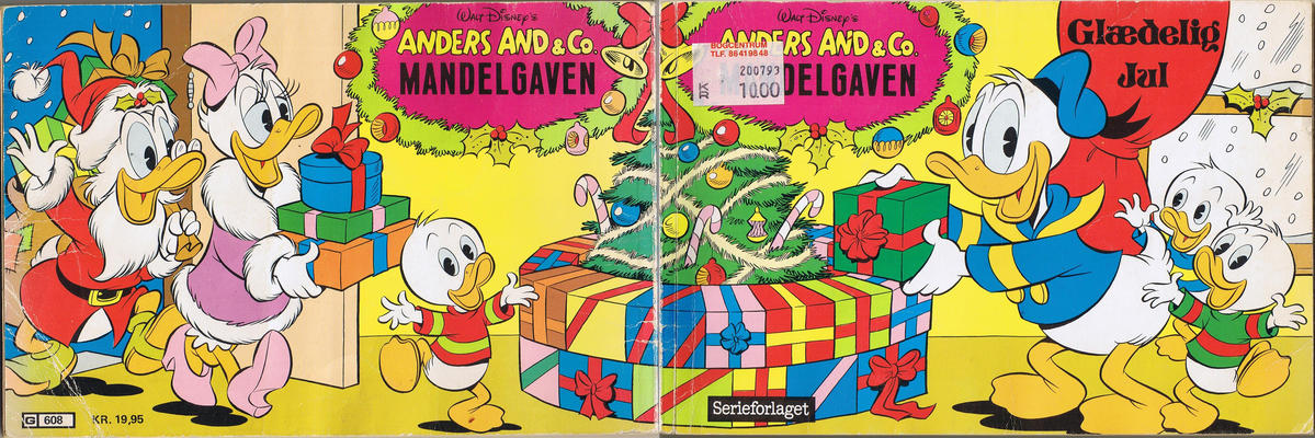 Cover for Anders And & Co. mandelgaven (Egmont, 1961 series) #1985
