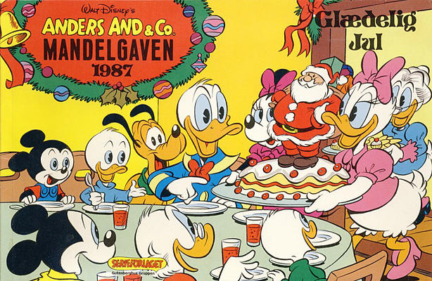 Cover for Anders And & Co. mandelgaven (Egmont, 1961 series) #1987