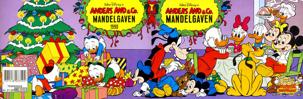 Cover for Anders And & Co. mandelgaven (Egmont, 1961 series) #1990