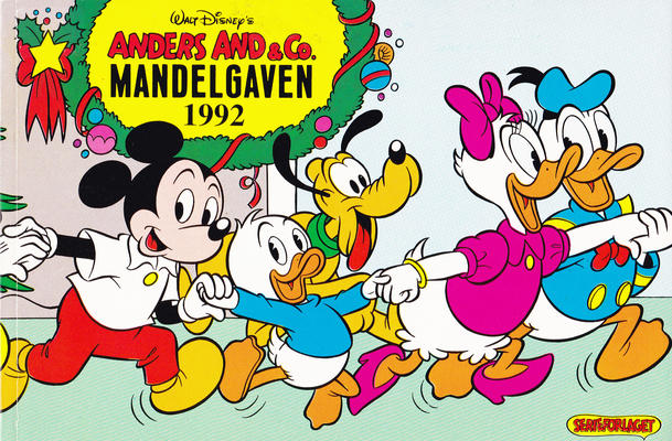 Cover for Anders And & Co. mandelgaven (Egmont, 1961 series) #1992