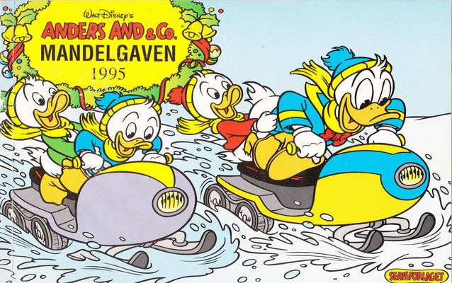 Cover for Anders And & Co. mandelgaven (Egmont, 1961 series) #1995