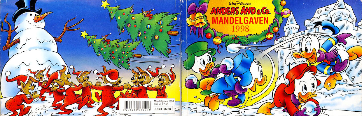 Cover for Anders And & Co. mandelgaven (Egmont, 1961 series) #1998