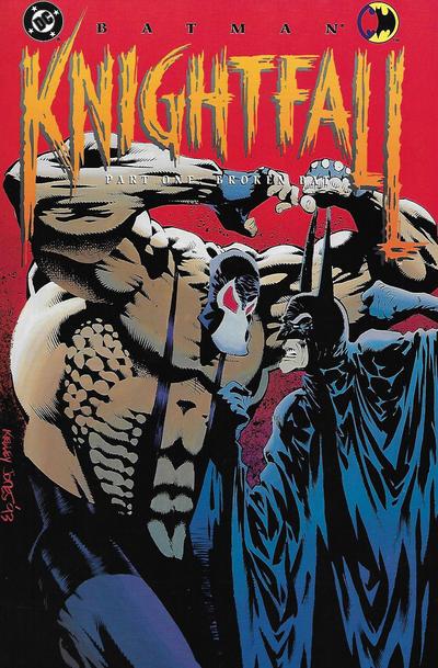 Cover for Batman: Knightfall, Part One: Broken Bat (DC, 1993 series)  [First Printing]