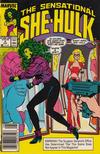 Cover for The Sensational She-Hulk (Marvel, 1989 series) #4 [Newsstand]