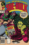 Cover for The Sensational She-Hulk (Marvel, 1989 series) #2 [Newsstand]