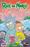 Cover for Rick and Morty (Oni Press, 2015 series) #8 [CJ Cannon Cover]