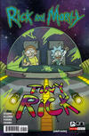 Cover for Rick and Morty (Oni Press, 2015 series) #25 [Retail Cover]