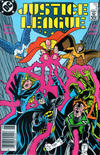 Cover Thumbnail for Justice League (1987 series) #2 [Newsstand]