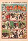 Cover for The Beano Comic (D.C. Thomson, 1938 series) #135