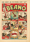 Cover for The Beano Comic (D.C. Thomson, 1938 series) #156