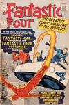 Cover for Fantastic Four (Marvel, 1961 series) #3 [British Price Variant]
