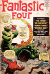 Cover for Fantastic Four (Marvel, 1961 series) #1 [British]