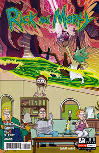 Cover Thumbnail for Rick and Morty (Oni Press, 2015 series) #1 [Fifth Printing Variant - Ryan Sygh]