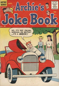 Cover Thumbnail for Archie's Joke Book Magazine (Archie, 1953 series) #36