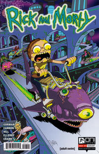 Cover Thumbnail for Rick and Morty (Oni Press, 2015 series) #7 [Incentive James Callahan Variant]