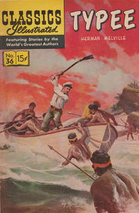 Cover for Classics Illustrated (Gilberton, 1947 series) #36 [HRN 64] - Typee