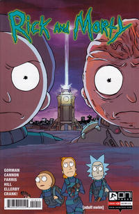 Cover Thumbnail for Rick and Morty (Oni Press, 2015 series) #10 [CJ Cannon Cover]